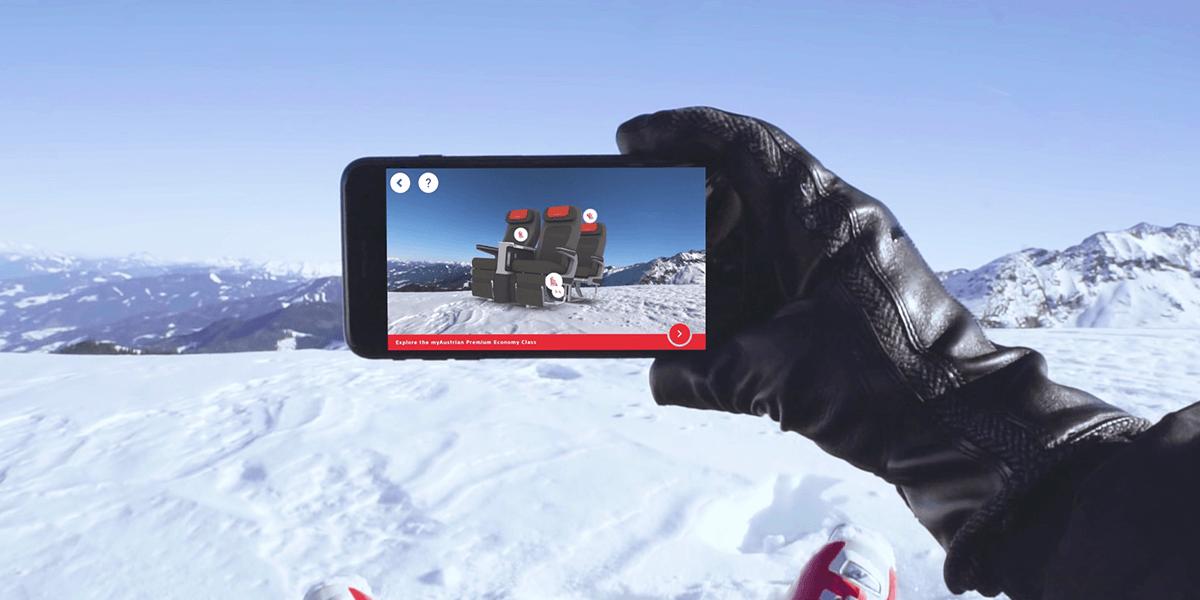 Austrian Airlines Premium Economy AR-experience