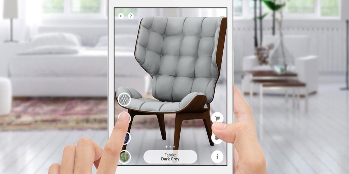 Mejor caso de uso de realidad aumentada web de la industria del mueble en 2020
