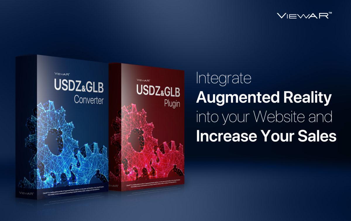 ViewAR USDZ & GLB Converter: el primer paso más fácil de su empresa hacia WebAR