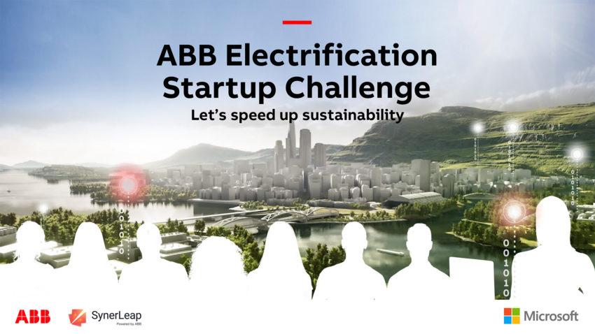 ABB Electrification Startup challenge header