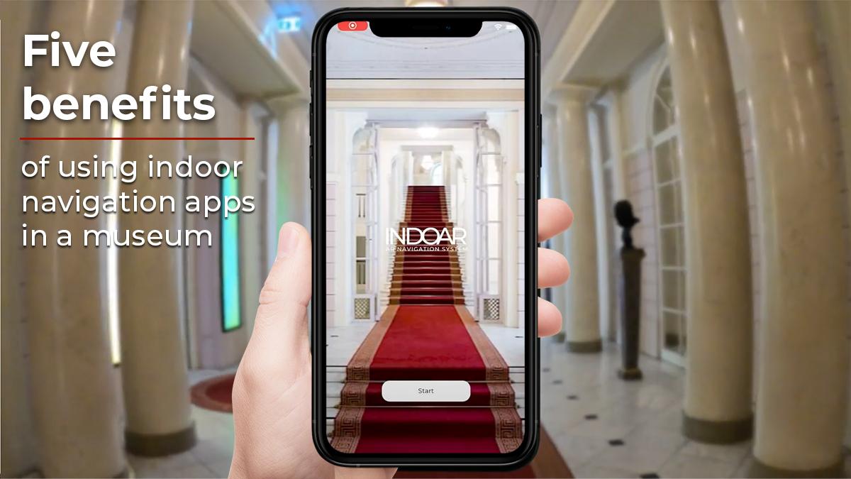 indoor navigation apps in a museumINDOAR blog